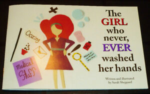 ► THE GIRL WHO NEVER, EVER WASHED HER HANDS - Book