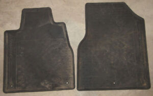 2007 2008 2009 Acura MDX  Front Rubber OEM Mats winter mud