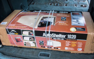 Car shelter; brand new, never out of the box: $275.00