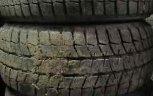 205/55/16 Passenger Tires at 75-90% tread 2 TIRES