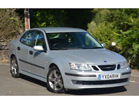Saab 9-3 1.8t auto 2004MY Vector Saloon Silver Automatic
