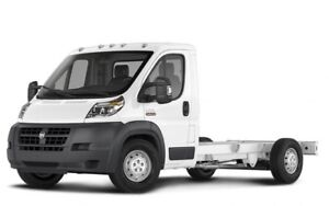 2017 RAM ProMaster 3500 Cab Chassis Low Roof 159 in. WB Chassis