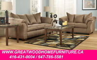 ASHLEY FURNITURE SALE !!! FABRIC SOFA...$599 ONLY