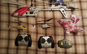 RC helicopter and Parts