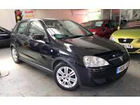 Vauxhall/Opel Corsa 1.2i 16v ( a/c ) 2006 Active + FSH + Warranty Included