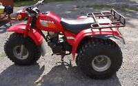 TRADE BARN FIND 1984 ATV 3-WHEELER MINT FOR AGE
