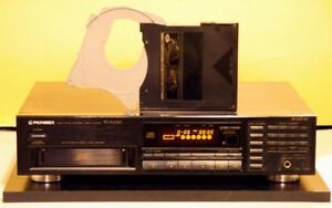 Pioneer CD Player, Changer Model PD-M530 With CD Magazine.