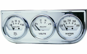 Cadran triple Autometer neuf