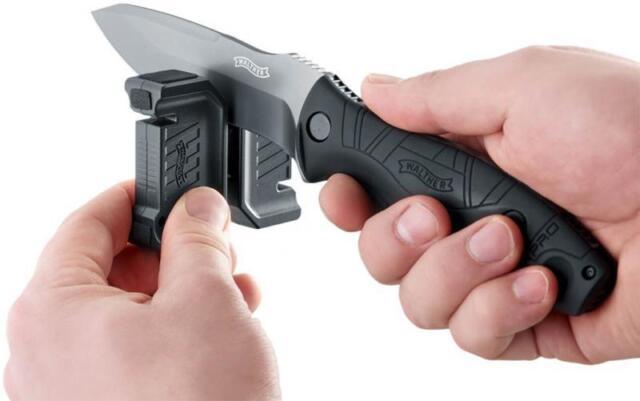 Walther Messerschärfer (knife sharpener) für Küchen-Messer und Jagd-Messer