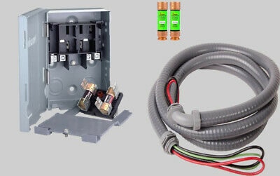 Quick Disconnect Switch Kit For Mini Split Air Conditioner Systems 30 Amp