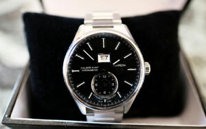 Men's Authentic Tag Heuer Carrera Calibre 8 GMT Automatic Watch