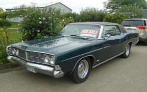 1968 Ford Galaxie 500 2 Door Hard Top Dark Metallic Green w/390