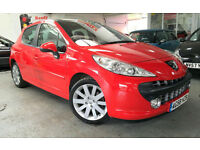Peugeot 207 1.6HDI 110 GT 5dr 2008 + Warranty Included