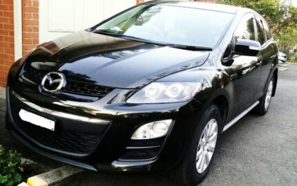 2010 Mazda CX7 Metallic Black Strathfield Strathfield Area Preview