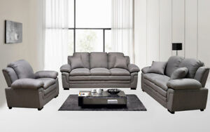 Brand new Sofa Set with throw pillows.