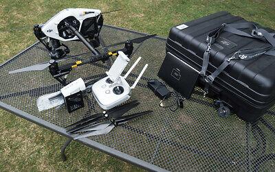 DJI inspire 1 Z3 zoom camera, dual battery system, X5 mount, prestine.