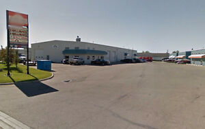 Small Industrial Warehouse for Lease in Airdrie