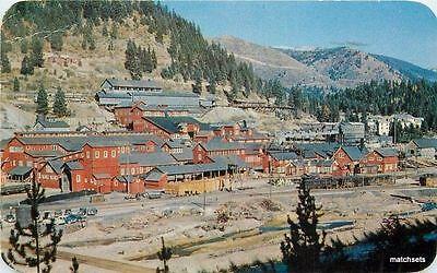 1961 Coeur Dalene Idaho Morning Mine Hall Dexter Postcard 3544