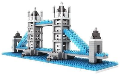 - London Tower Bridge Micro Building Blocks 570-pc Bricks LOZ-9371 w. Original Box