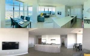 Burnaby sub-Penthouse 2 bed 2 bath   den/office