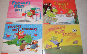 Froggy Books, 4 for $10
