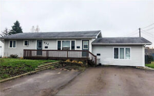 *** 3-Unit Bungalow situated in the Heart of Dieppe ***
