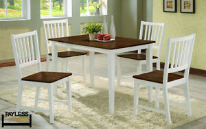 NEW ★ Dinette sets ★ 5 / 3 Pcs ★ Can Deliver Cambridge Kitchener Area image 1