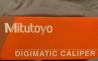 Mitutoyo Absolute Digimatic Caliper Range 0 8 Digital New 500-197-30 Authent