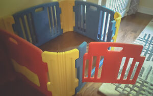 Little Playzone Playpen+sound,lights + Double extension kit!