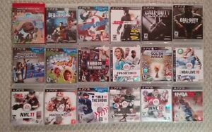 Playstation 3 games - Make an offer! Kitchener / Waterloo Kitchener Area image 1