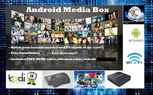 Free Movies & TV Shows!!!- Android Box
