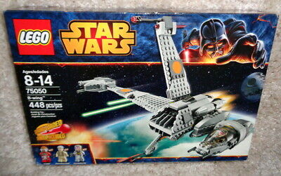 NEW Lego Star Wars B-Wing 75050 - 2014 Set - Retired - SEALED