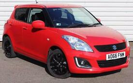 Suzuki Swift SZ-L 1.2 Petrol Manual 5 Door Hatchback Red 2016