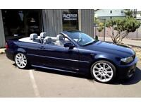 2003 53 BMW 330CI M SPORT CONVERTIBLE ONLY 40000 MILES BEAUTIFUL CONDITION