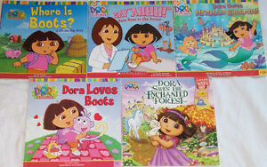 Qty 6 Sets of 5 Dora Books Including Lift the Flap Retailing $9+ London Ontario image 3