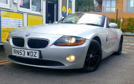2004 BMW Z4 ROADSTER CONVERTIBLE 2.2 ULEZ FREE