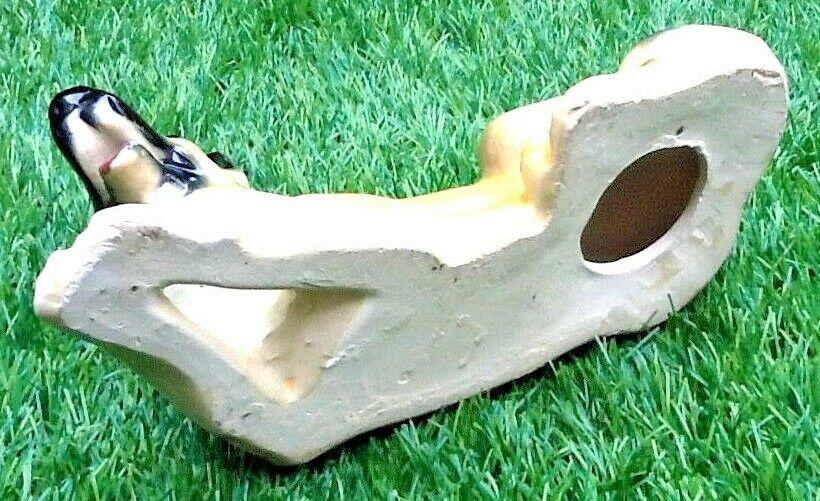 Chien berger allemand  céramique vernissée