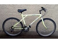 "Bike/Bicycle. GENTS GT "" OUTPOST "" MOUNTAIN BIKE"