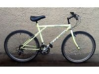 "Bike/Bicycle. GENTS GIANT "" GT OUTPOST "" MOUNTAIN BIKE"