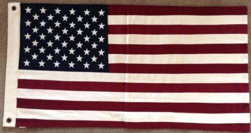 USA United States of America Flag SEWN 100cm x 50cm With 2 Eyelets