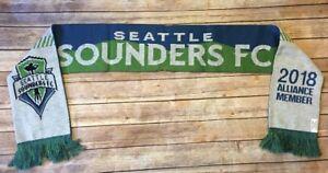 Seattle Sounders FC MLS 2018 Season Ticket Alliance Member Scarf