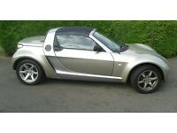 smart car roadster convertable