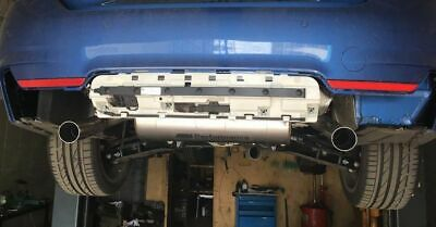 Genuine BMW M Performance Exhaust Assembly Conversion Kit for BMW 3 and 4 series