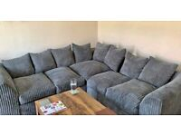 ON SALE LUXURY LIVERPOOL JUMBO CORD / 3 + 2 SEATER SOFA AVAILABLE IN DIFFERENT COLORS ORDER NOW..