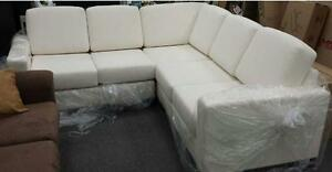 LORD SELKIRK FURNITURE - CUSTOM BUILT 5 SEATER SECTIONAL