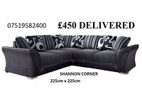3's and twos or corner sofas, fabric or leather sofa all new and under warranty click thru the pics