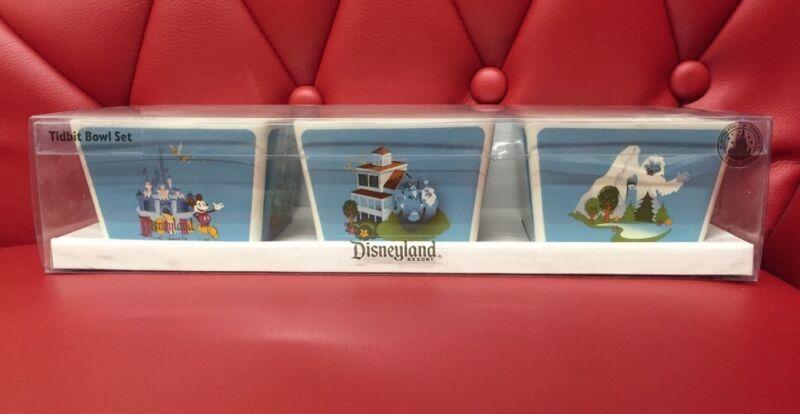 Disneyland Resort: Tidbit Bowl Set 3 Pieces (C6)