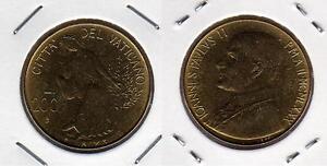 VATICANO-Papa-Giovanni-Paolo-II-200-Lire-1980-FDC