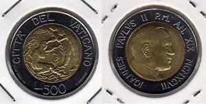 VATICANO-Papa-Giovanni-Paolo-II-500-Lire-1997-FDC
