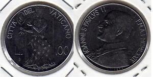 VATICANO-Papa-Giovanni-Paolo-II-100-Lire-1979-FDC